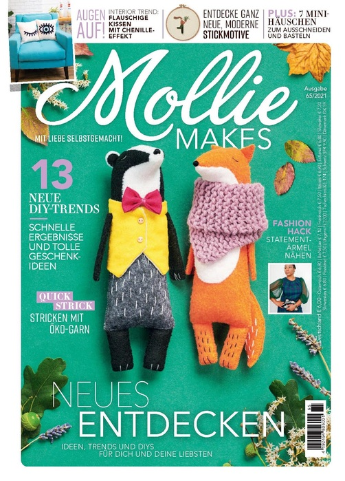 Mollie Makes №65 2021 Germany