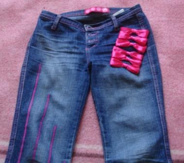 джинсы хенд мейд - Сумки.