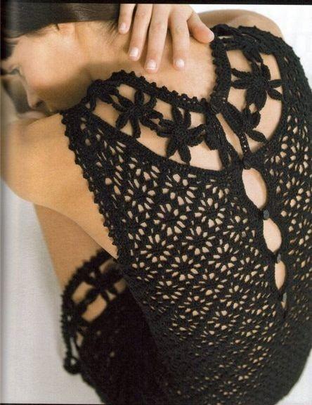 вязание крючком платья для малышей со схемой.  Рерия сообщений.