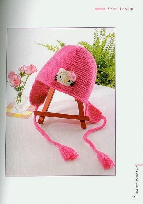 Схемы шапочки вязаные для новорожденых.