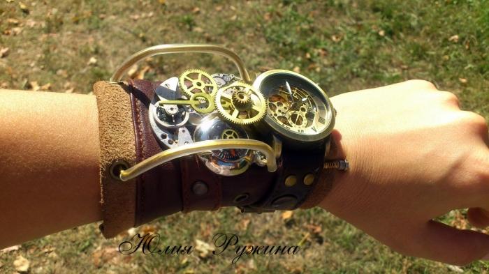 7b2136e4fe8c Наручные часы в стиле Стимпанк. Обсуждение на LiveInternet ...