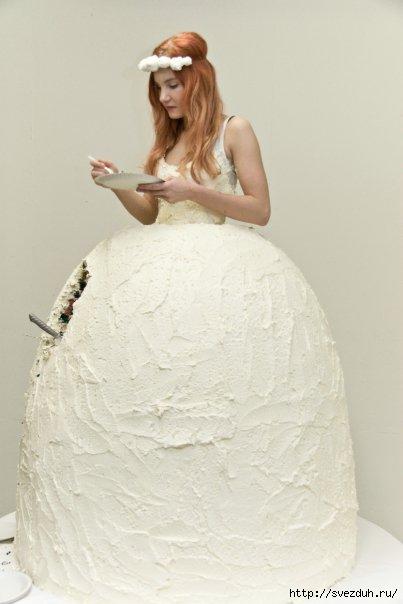 e0a0fb6fd88 Подвенечное платье торт - Все самое Интересное в Блогах