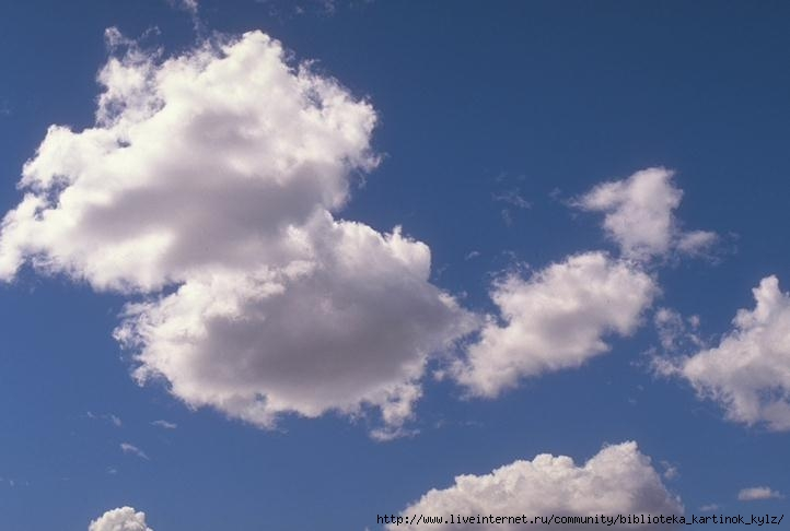 Фигуры облаков Облака -2 Небо Пейзажи МИР ФОТО.