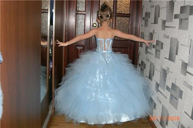 как сшить выпускное платье для девочки лет.