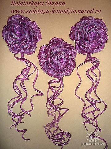 Цветы для украшения штор.  Я - фотограф.  Прочитать целикомВ.