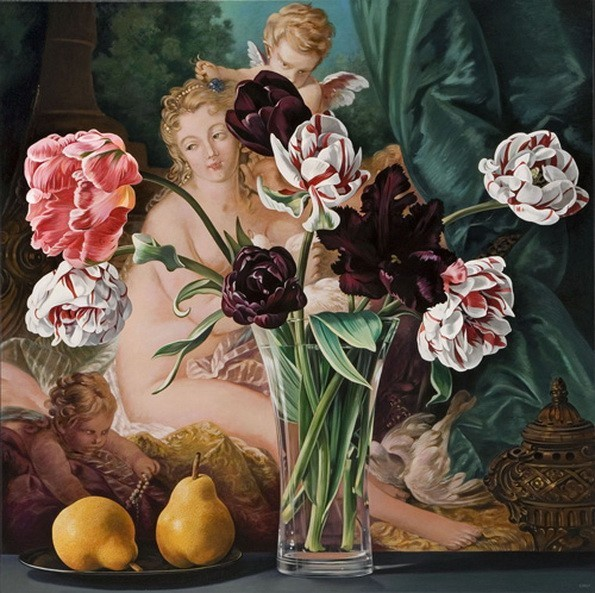 Tulips with Venus