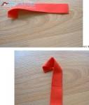 Оригинальный цветок из ткани - как сделать своими руками.