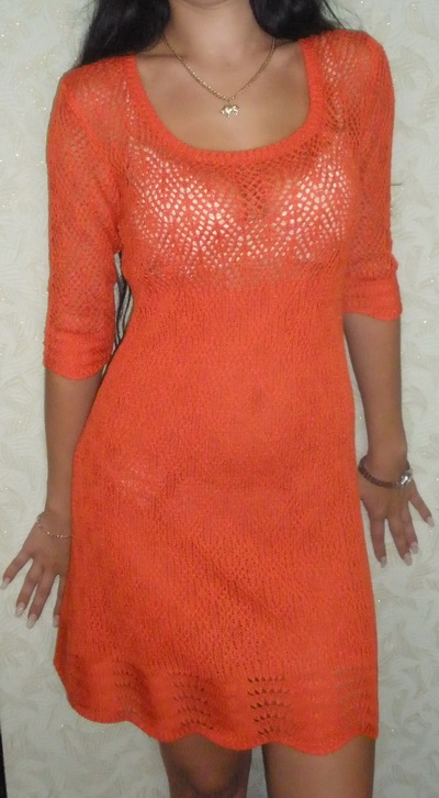 Ажурное,нарядное платье.