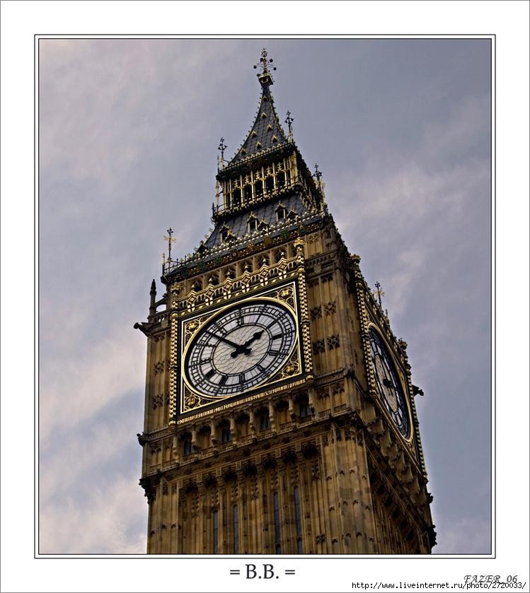 Фотография Великобритании, Лондон.  Big Ben.