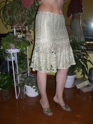 Описание: вязанные юбки крючком для девочек со схемами.