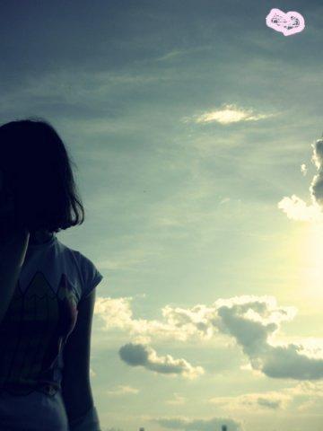 Небо.Самолёт.Девушка.