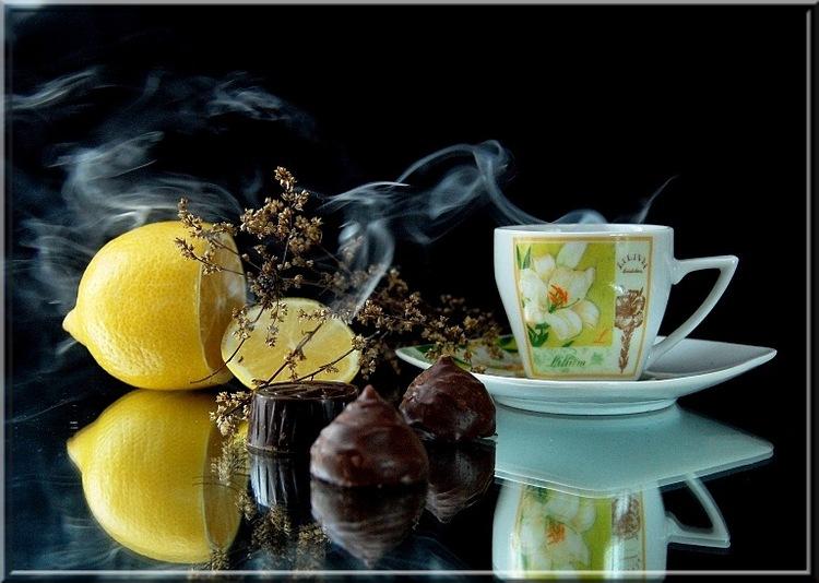 Открытки утренний чай доброе утро, анимационные