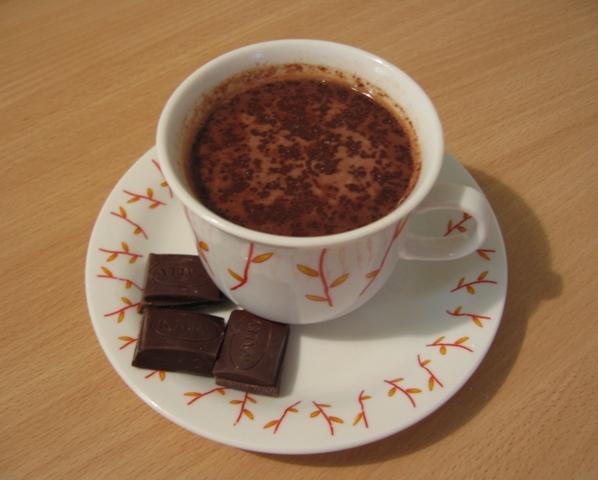Коктейль Горячий шоколад.