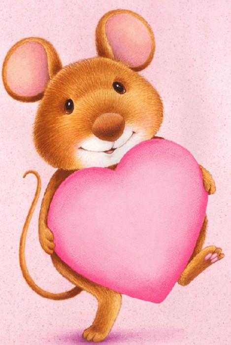 Люблю тебя мышонок картинки
