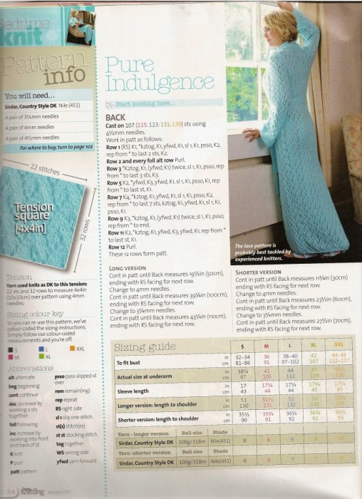 Вязаный халат - Женские модели одежды - Вязание спицами ...
