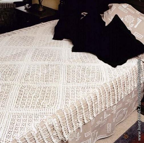Описание: вязание крючком покрывала схемы, красивые вязаные платья...