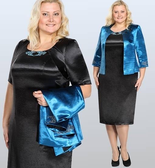Ртильная одежда для полных женщин от Серебряной нити в магазине БАРЫНЯ.