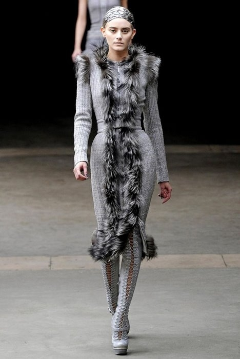 Мода, Показы мод, Осень-зима 2012: коллекция Stella McCartney на.