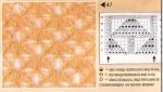 Узоры 53-55 - схемы вязания спицами ажурных узоров с косами. узоры.