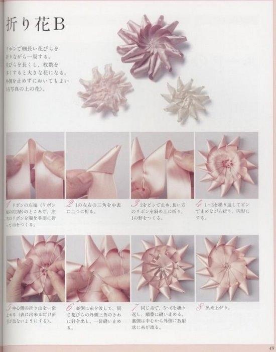 Изысканные цветы из лент скачать книгу бесплатно - лучшая электронная...