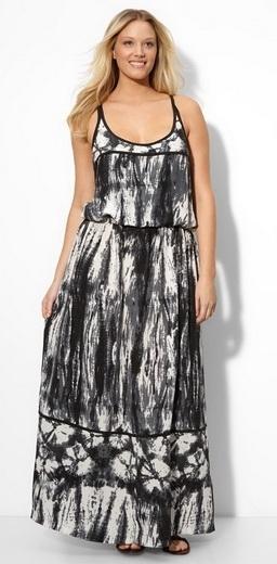 Правило 3: Модная и красивая одежда для полных женщин 2011 - это платья...