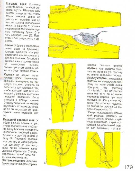 4d21569566b5 технология пошива брюк - Самое интересное в блогах