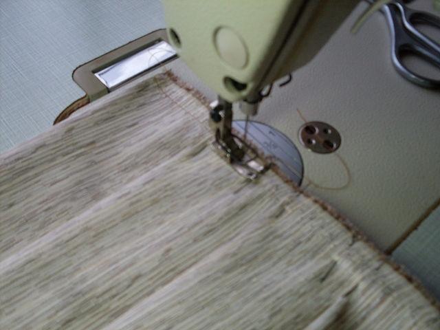 Закрепляем складки строчкой