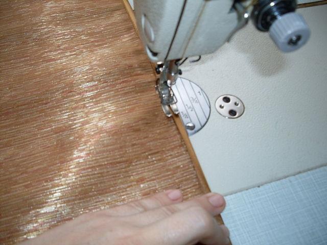 обработать этот стачной шов косой бейкой