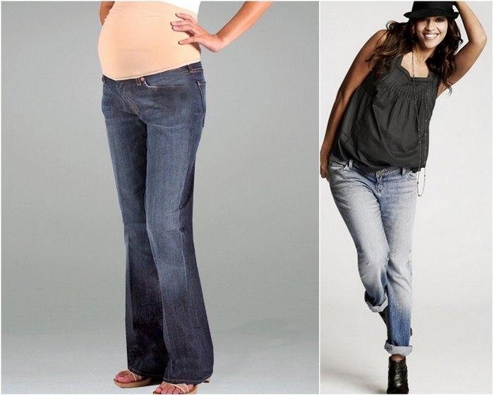 ...7 for all mankind secret fit bellytm 5 pocket boot cut maternity jeans.