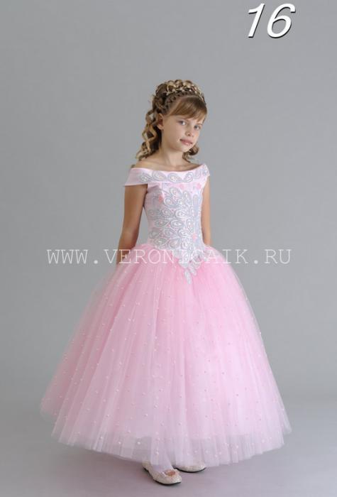 Шикарное бальное платье на возраст 7-9 лет.  Артикул: 010-016.