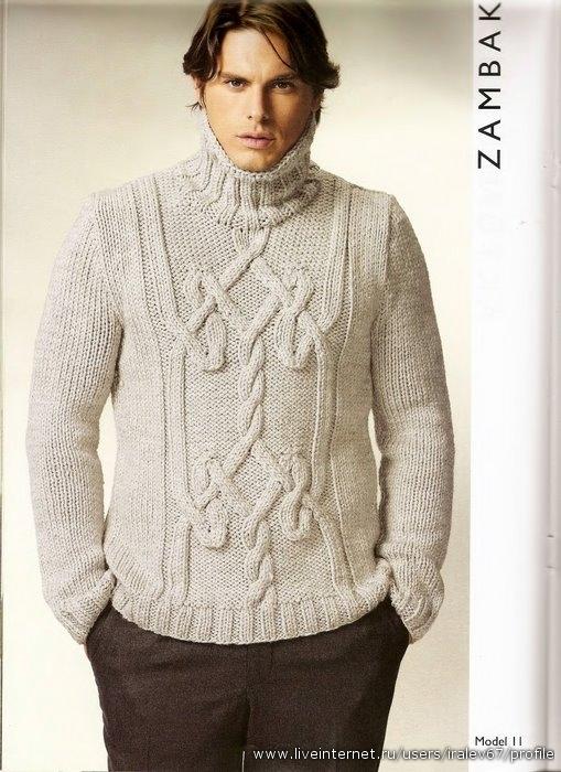 Изготовление на заказ мужских вязаных свитеров, жакетов, кардиганов...