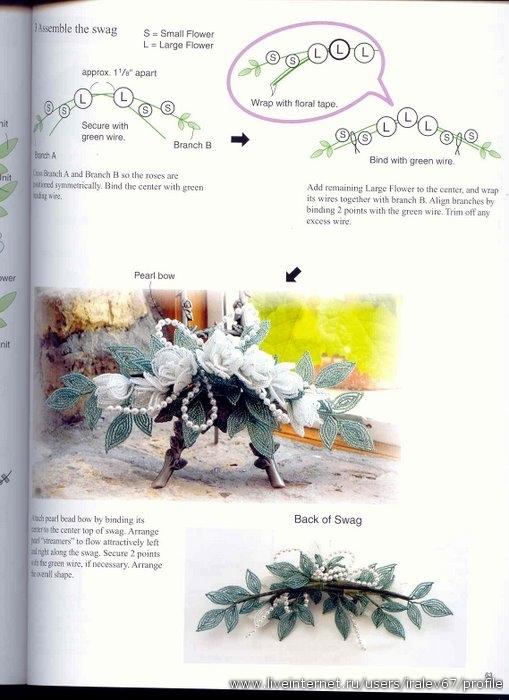 Сказочная книга по бисерному украшению праздников(и не только)