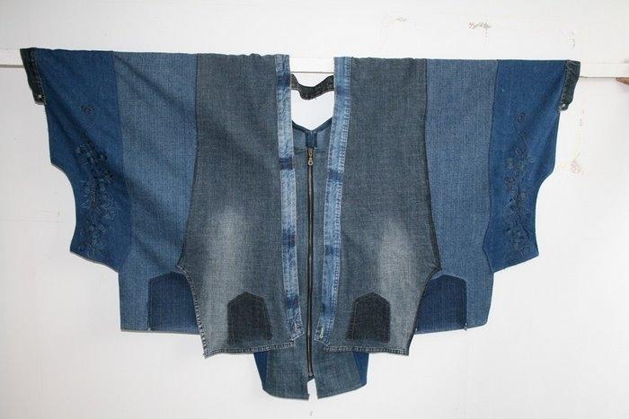 Как пошить сумку своими руками из джинсов