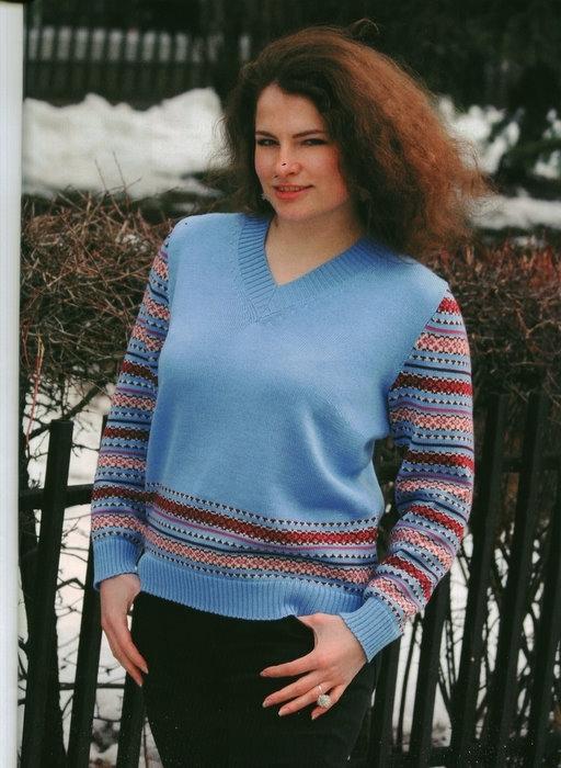 Вязание на МАШИНЕ (модели с описанием) Маргарита Костенко 52