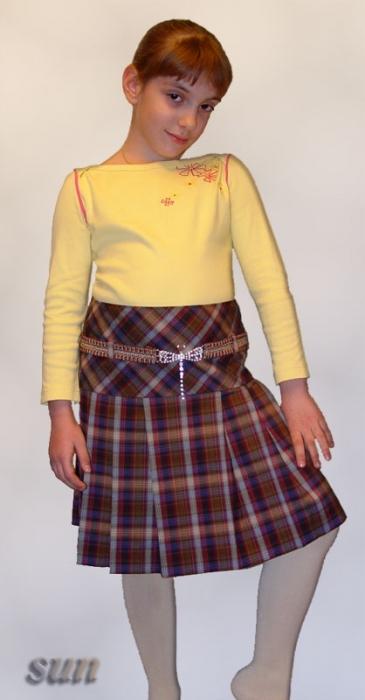 детская одежда. шьем детям. дети. сшить юбку ребенку. сшить пышную.