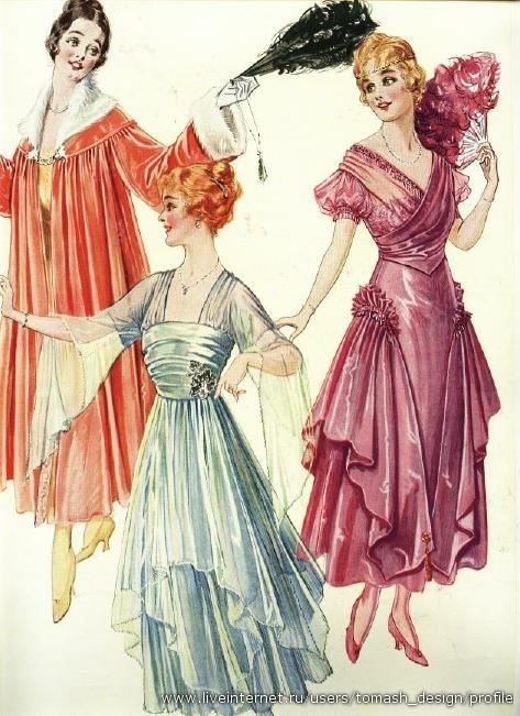 Мода 20-го века фото