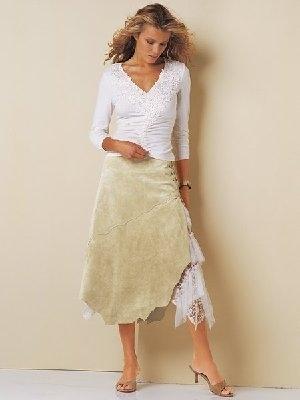 1 кардинально меняется вид юбки 2 отличная возможность.