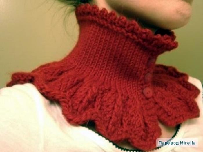 Aimlesstupuhighdom Вязание манишки и шарфы