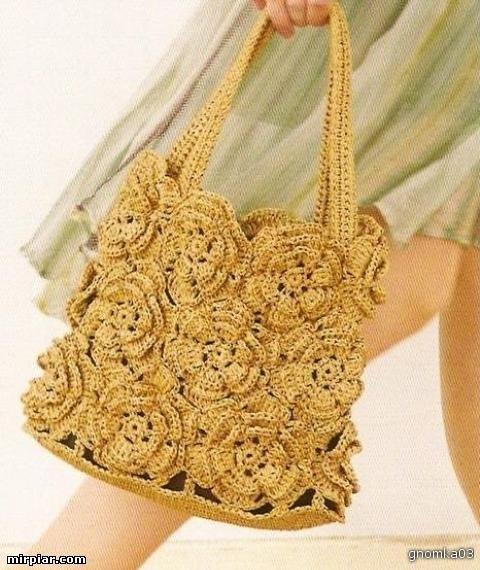 Lara.  Готовте санки и вязаную сумку летом.