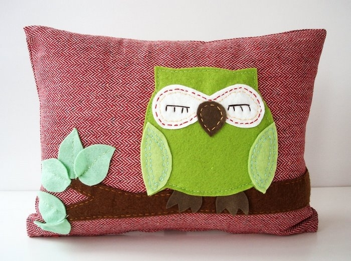 Craft Ideas For Home And Gifts Pillows With Application Make