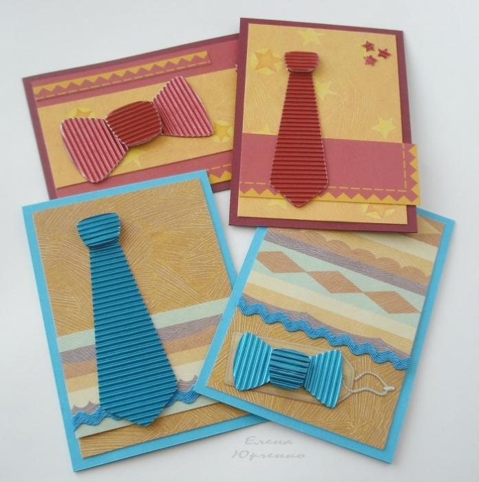 Картинки, открытка из гофрированной картона
