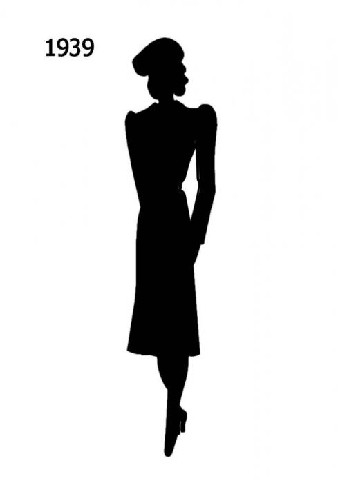 fashion silhouette description - 489×700