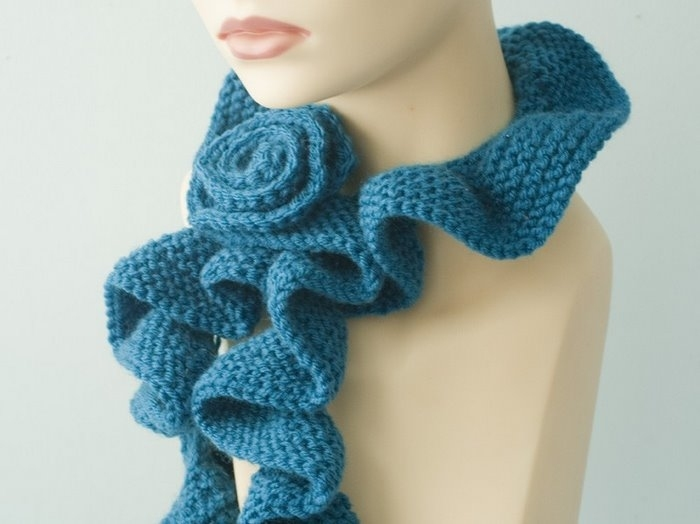 Handmade scarves Knitting Scarf Patterns For Kids