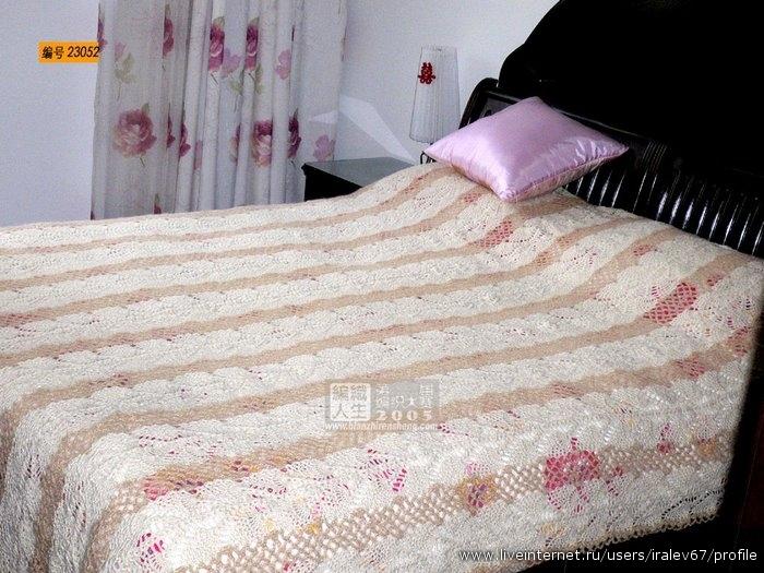 вязаные пледы покрывала подушки записи в рубрике вязаные пледы
