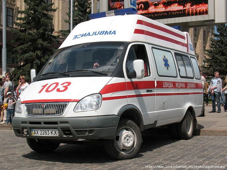 Машины скорой помощи. Фотоподборка. Часть I. Россия ... Машина Скорой Помощи Внутри
