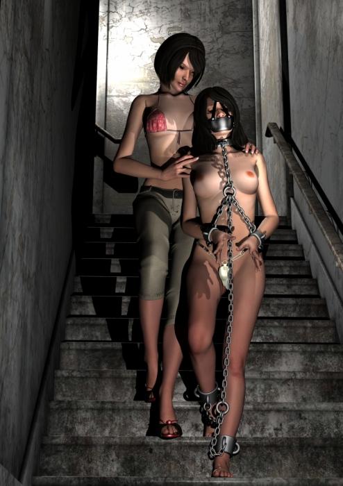 3d рабыня