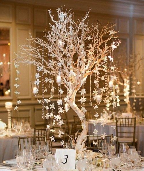 Wedding table decorations ideas centerpiece
