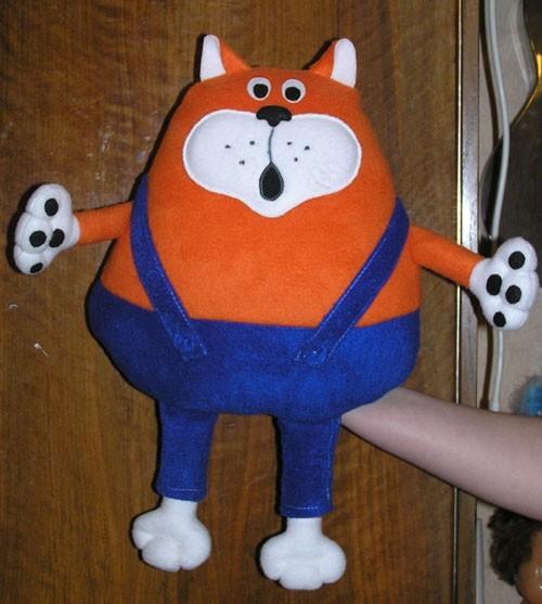 Мягкая игрушка тильда описание и выкройка - кот.