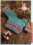 вязание детского свитера регланом сверху. выкройка кофты женской для...