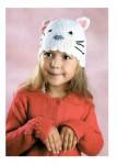Вязание крючком шапки для детей.